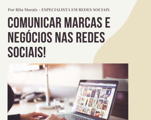 COMUNICAR MARCAS E NEGÓCIOS NAS REDES SOCIAIS!