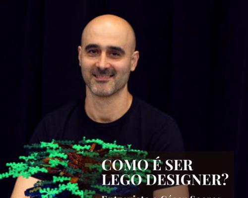 COMO É SER LEGO DESIGNER?