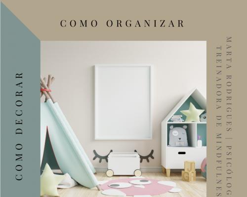 Como Organizar o Quarto de uma Criança?